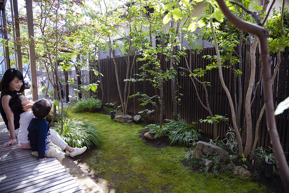雑木の庭 埼玉 東京 関東 自然風の庭